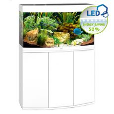 Set JUWEL akvárium Vision LED 180 biely + skrinka