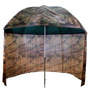 Dáždnik PVC s predlženou bočnicou 250cm camo